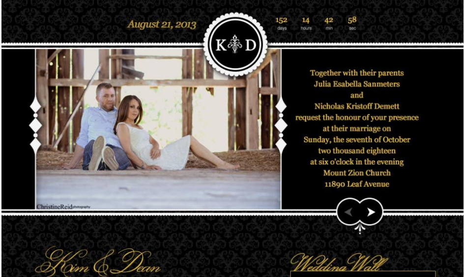 BeYOUtiful BeginningsDigital Wedding Invitations BeYOUtiful Beginnings