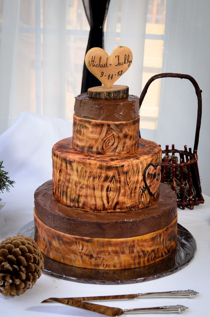Wedding Cakes That Look Like Trees